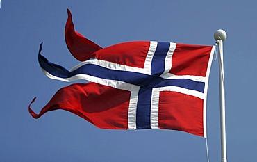 Norwegian national flag.