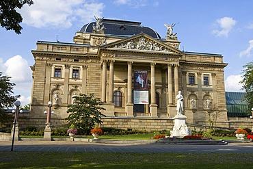 Hessian national theatre, Wiesbaden, Hessen, Germany.