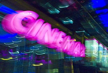 Cinemaxx cinemas in Offenbach, Hesse, Germany, Europe