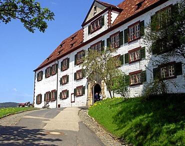 Castle in the town Schmalkalden, Germany