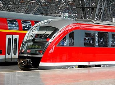 Leipzig, central station, Germany
