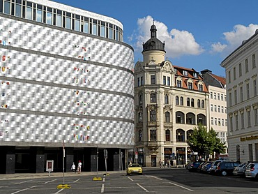 Leipzig at Richard Wagner Square, Saxony, Germany