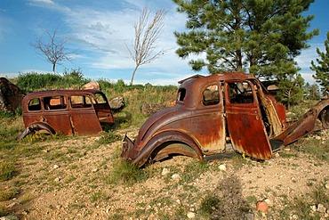 Scrap metal car