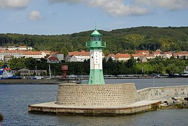 Light house of Sassnitz, Rugia, Mecklenburg-Western Pomerania, Germany