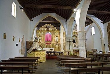 Alter, church Nuestra Senora de Regla in Pajara Fuerteventura, Canary Islands, Spain