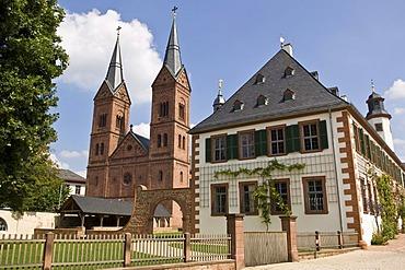 Former Benedictine abbey, Seligenstadt, Hesse, Germany
