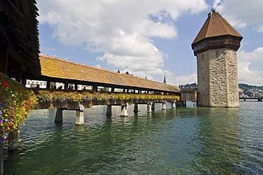Kapellbruecke, Lucerne, Switzerland