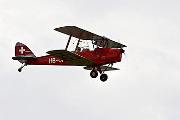 Buecker Jungmann, Europe's big vintage aeroplane meeting on the Hahnweide, Kirchheim-Teck, Baden Wuerttemberg, Germany