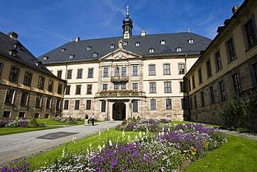 Town castle, Residency of the prince-bishops of Fulda, Fulda, Hesse, Germany