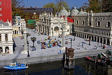 Model of Venice, Legoland, Guenzburg, Bavaria, Germany