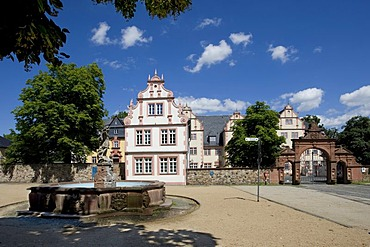 Friedberg Castle, Wetterau, Hesse, Germany