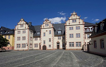 Tax office, subsidiary in Friedberg Castle, Wetterau, Hesse, Germany