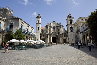 La Catedral, Cathedral of Saint Christopher of Havana, Cuba, Caribbean