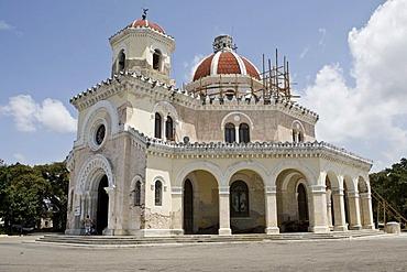 Mausoleum in the Cementerio Cristobal Colon, Colon Cemetery in Havana, Cuba, Caribbean