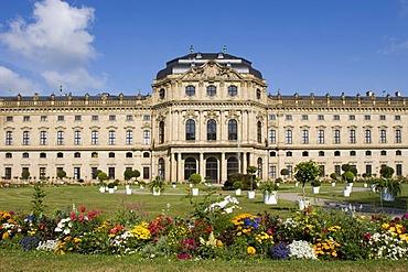 Residence Wurzburg Wuerzburg Franconia Bavaria Germany
