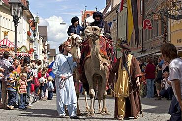 Emporer festival in Fussen - Fuessen - Bavaria Germany