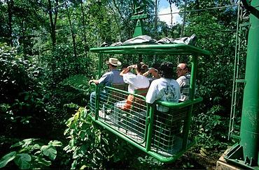 D Perry - rainforest aerial tram Costa Rica