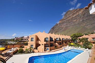 Apartments Tres Palmera in La Playa Valle Gran Rey La Gomera Canary Islands
