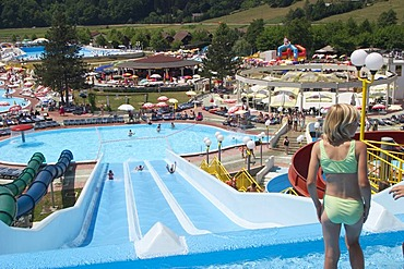 Thermalpark Aqualuna of the hot spring Olimia - thermal bath in Podcetrtek - Slovenia