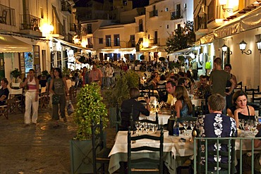 Nightlife in Eivissa - capital of Ibiza