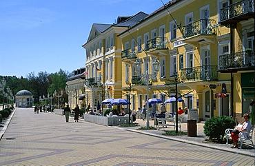 Frantiskovy Lazne Tri Lilie Bohemia Czech Republic