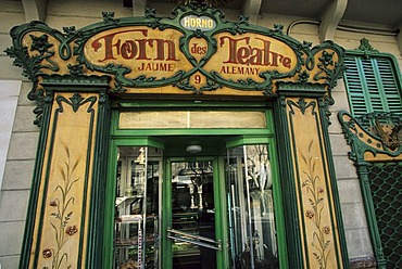 Palma de Mallorca Placa Weyler - Forn des Teatre - bakery