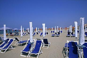 Beach Viareggio Tuscany Italy