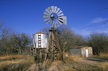 USA Arizona San Pedro Conservation Area Charleston wind wheel