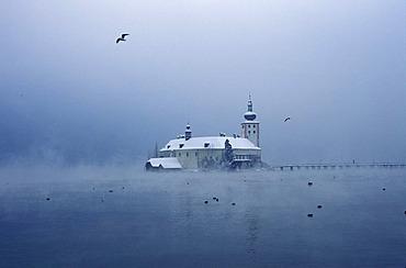 Ort castle Traunsee lake Gmunden Salzkammergut Austria
