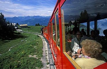 Schafberg mountain Schafbergbahn rack railway Salzkammergut Austria