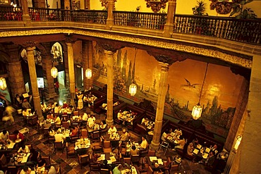 Mexico D.F. Mexiko City Casa de Azulejos Restaurant Sanborns