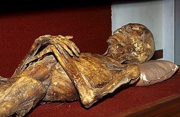 Mexico Guanajuato city Panteon mummy museum