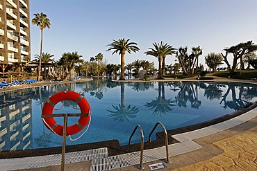 Hotel Sol Gorriones , pool lifebelt , Jandia , Fuerteventura , Canary Islands
