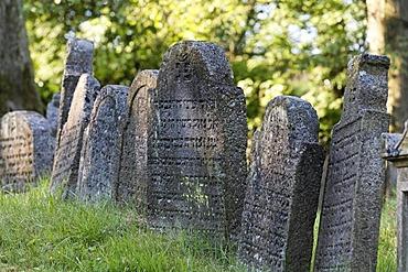 Jewish graveyard in Floss , Upper Palatinate , Bavaria Germany
