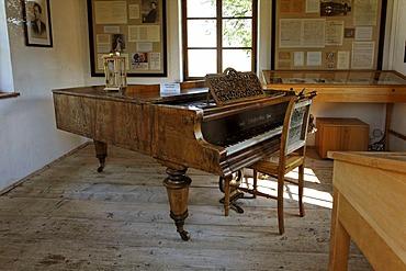 Gustav Mahler house in Steinbach at Attersee lake, Salzkammergut, Upper Austria