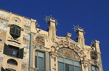 Art nouveau house, Palma de Mallorca, Spain