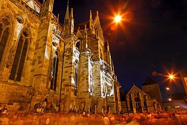 St Peter cathedral, festivity, Regensburg, Upper Palatinate, Bavaria, Germany