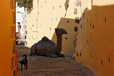 Bronze camel, Agueimes, Aguimes, Gran Canaria, Spain
