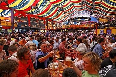 Oktoberfest, Munich beer festival, Hippodrom tent, Bavaria, Germany