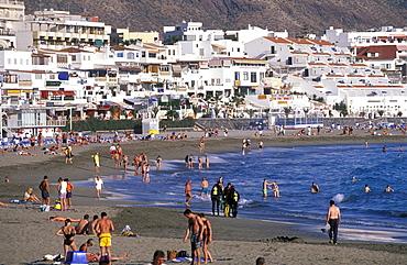 Los Cristianos, Playa de las Vistas, Tenerife, Canary Islands, Spain
