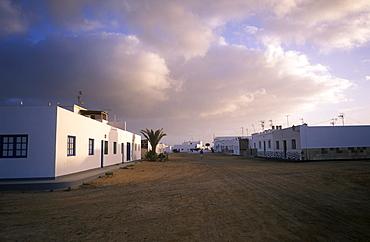 Caleta de Sebo, La Graciosa, Canary Islands, Spain