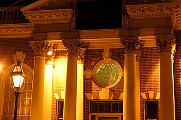 Warren Town Hall, Rhode Island, USA