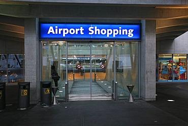 Airport Shopping in Zurich, Switzerland