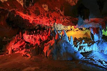 "The ""Christmas Tree Room"" of Florida Caverns State Park, Marianna, Panhandle, Florida, USA"