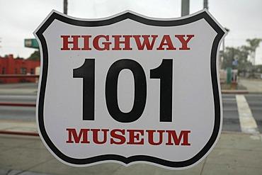 Historic Highway 101 Cafe, California, USA
