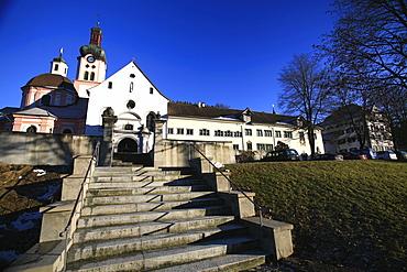 Monastery Fischingen with church, Fischingen, Thurgau, Switzerland