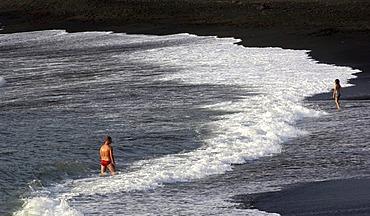 El Golfo Bay Lanzarote Canaries, Spain