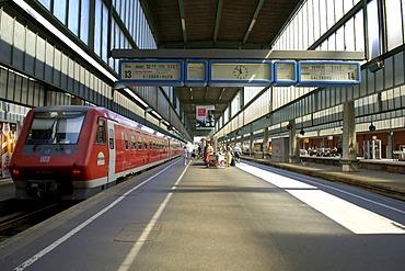 Main station Stuttgart, Baden-Wuerttemberg, Germany