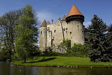 Water castle Heidenreichstein, Waldviertel, Lower Austria, Austria