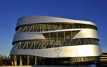 Mercedes-Benz Museum, Stuttgart, Baden-Wuerttemberg, Germany